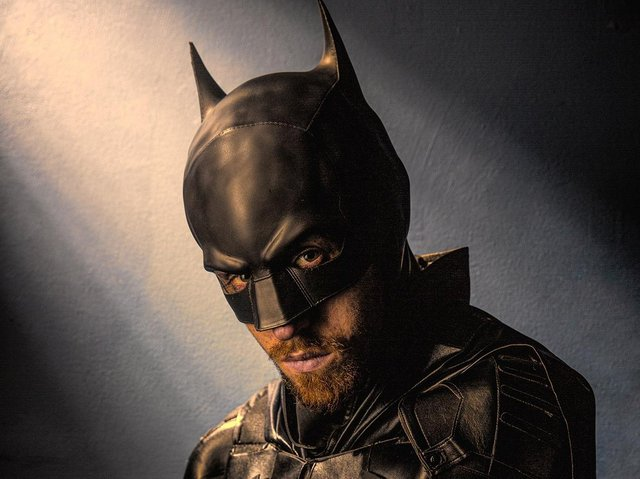 Look out for Batman, aka Jack Walsh, when he climbs Pendle Hill next month (photo courtesy of Graham Currey)