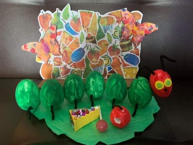 Lexie's winning Easter egg creation