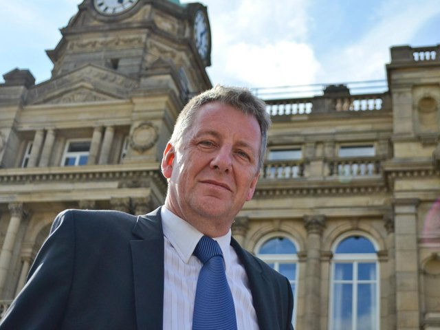 Mark Townsend, who has been appointed Burnley's Mayor this week