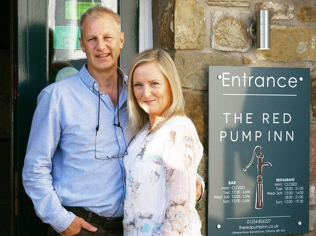 Business owners Jonathan and Fran Gledhill