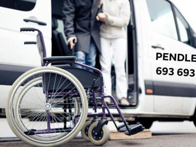 There are a number of wheelchair-accessible vehicles owned by Pendle Taxis Ltd