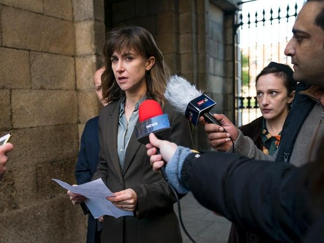 Katherine Kelly faces a hostile press in ITV drama Innocent