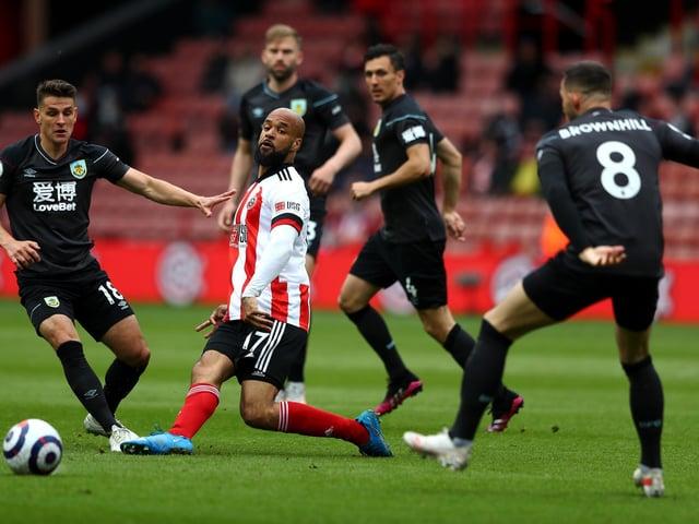 Burnley try and halt David McGoldrick