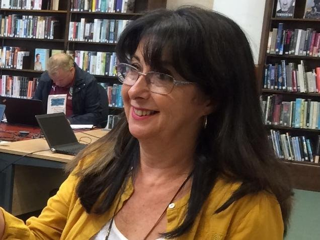 Anne Criscenzo-Whittam, who has worked for the library service in Burnley since 1988, has retired