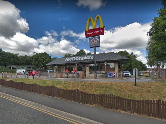 The McDonald's in Burnham Gate