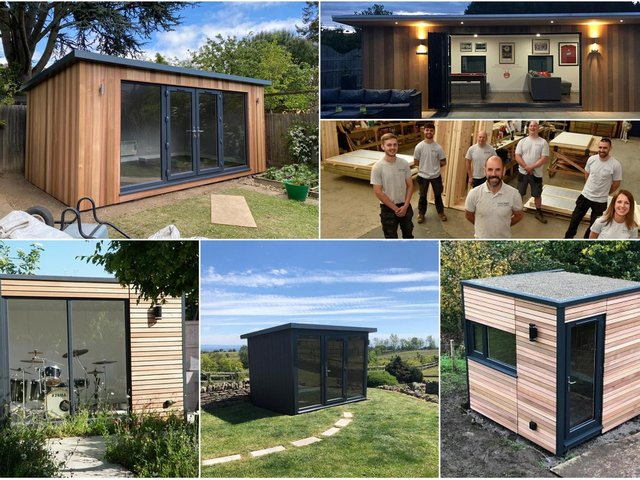 Just some of the amazing spaces being created by Sanctum Garden Studios in Chorley