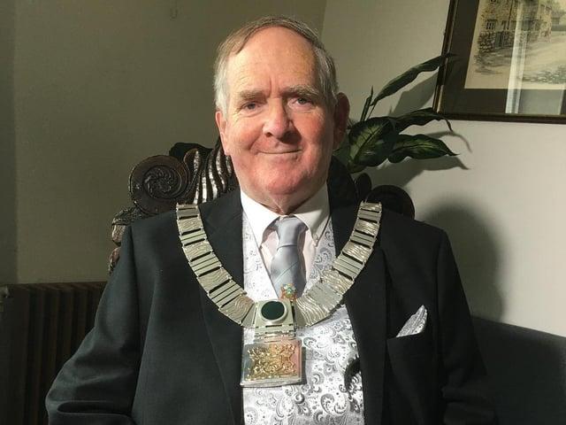 Ribble Valley's new mayor Tony Austin