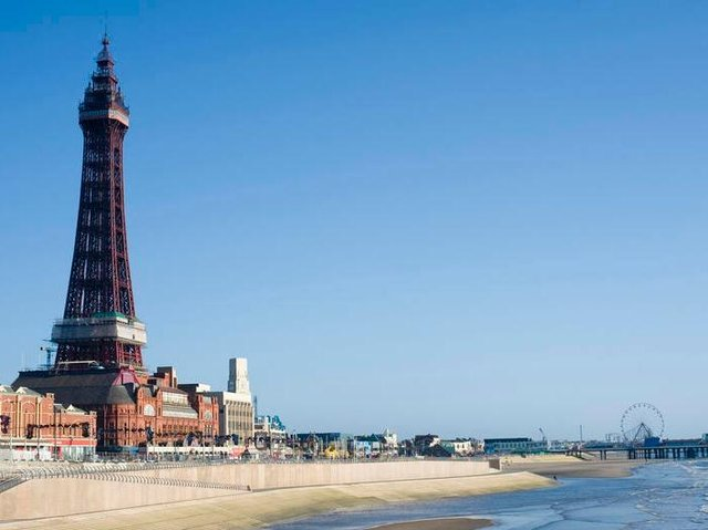 10 outdoor attractions in Blackpool to make the most of the May Bank Holiday heatwave.
