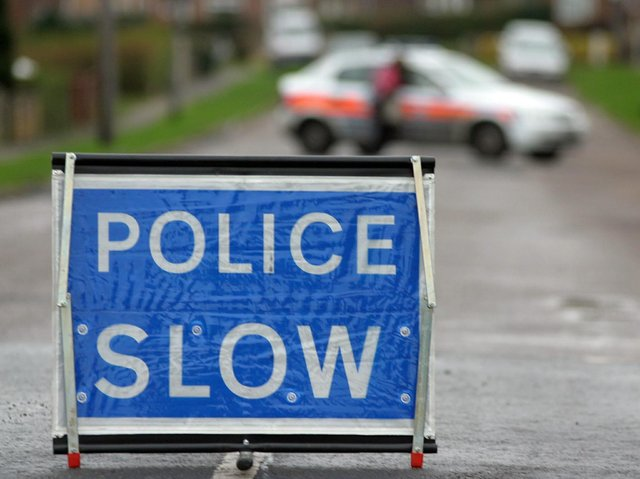Police have closed Cog Lane