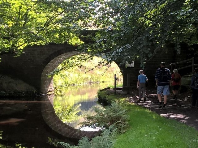 An Active Together locally guided walk