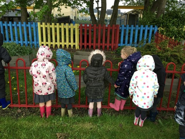 Springfield pupils don their wellies