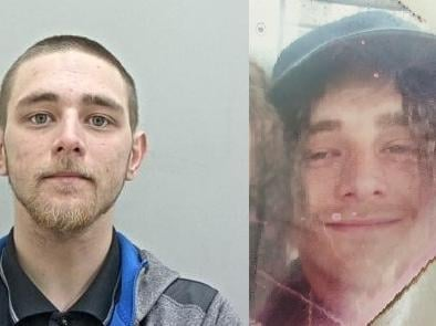 Daniel Addison, 26, is described as 6ft tall, of proportionate build, with green eyes and long, light brown hair which is sometimes worn in a bun. He has a light brown beard and is sometimes known to wear a black bandana on his hair. The photo on the right shows what is believed to be Addison's current hairstyle  The photo on the right shows what is believed to be Addison's current hairstyle.