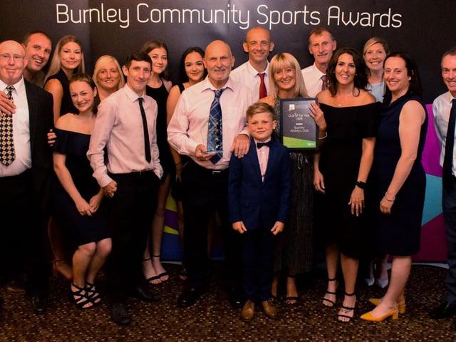 Burnley Athletics Club – Club of the Year Award 2019.