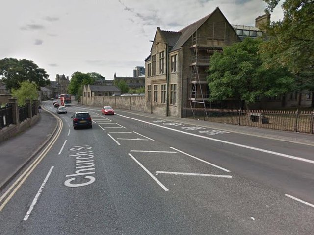 Cameras could soon be installed on this Church Street bus lane in Burnley. Photo: Google