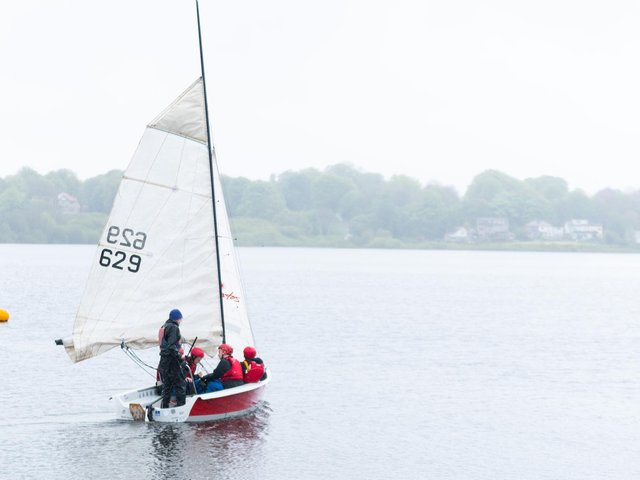 Members of Burwain Sailing Club
