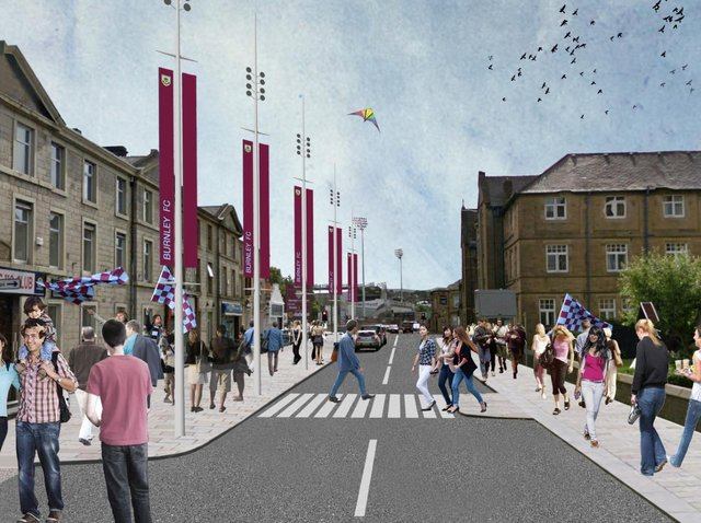 One of projects is based around Yorkshire Street, and aims to create a gateway between the town centre and Turf Moor incorporating a high-quality public realm