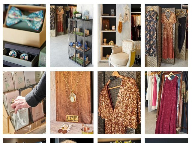 Some of the items on offer at the charity shop. Photo credit: Shoot and Bloom Photography
