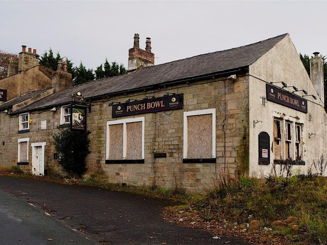 The Punch Bowl Inn had been vacant since 2012.