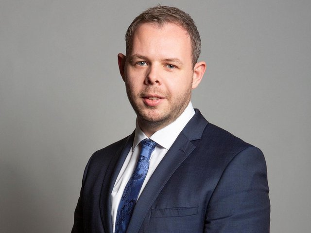 Burnley MP Antony Higginbotham