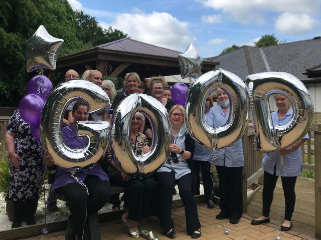 Bank Hall Care Home is celebrating after being rated 'good' by the Care Quality Commission.