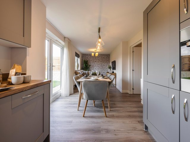 The Maplewood at Miller Homes' Montague Place development, Clitheroe.