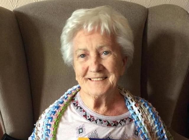 Resident of Ashmeade, in Burnley, Kathleen Gill