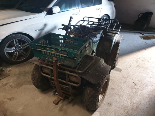 Police would like to reunite the quadbike with its owner