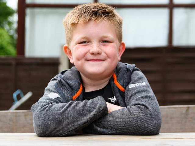 Alfie Smith is calling on Prime Minister Boris Johnson to install defibrillators in all schools in the UK