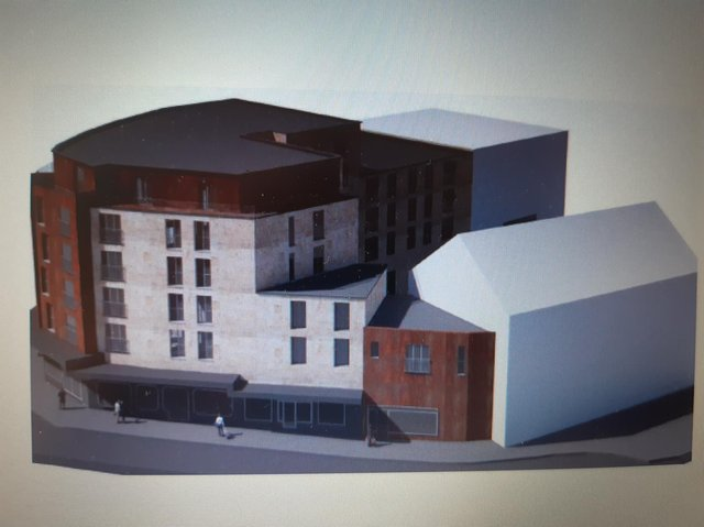 CGI of how the site could look