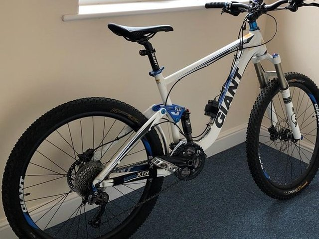 Thieves stole the bike earlier this week