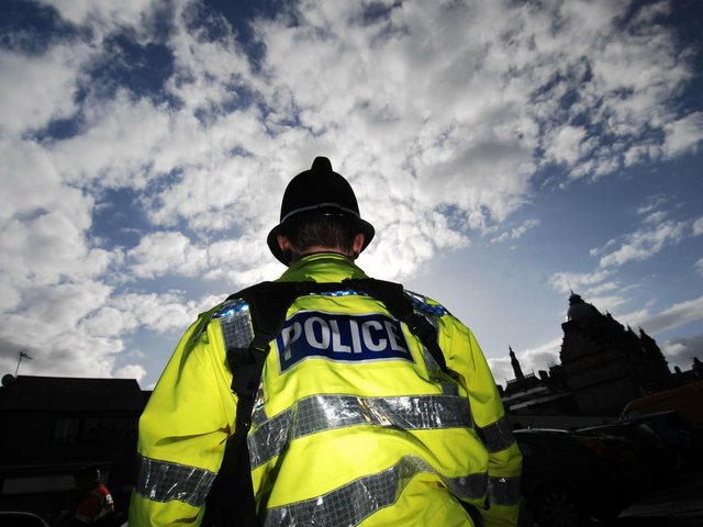 Police arrested a man at a Clitheroe bar