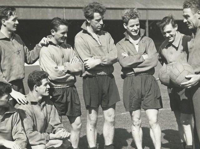Jock Aird, third right