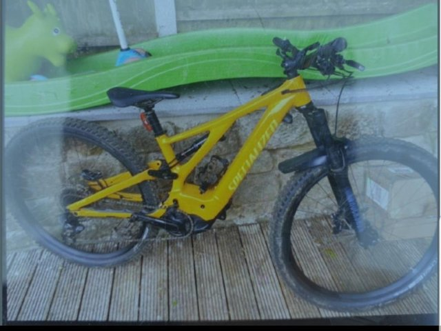 This is the bike that was stolen in Earby this week