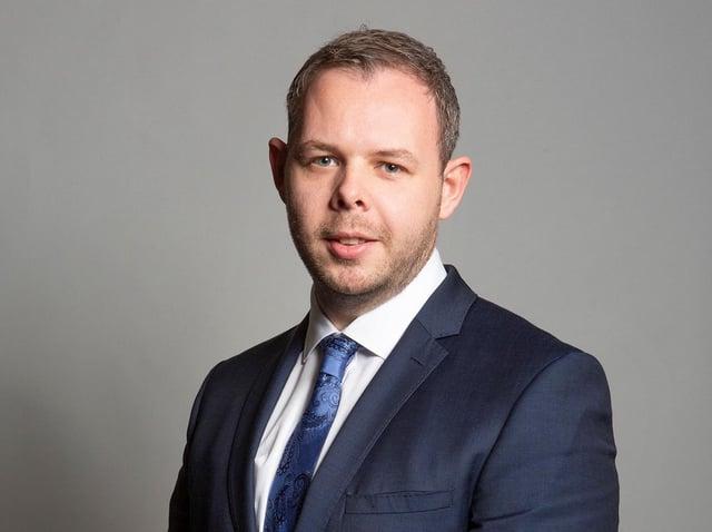 Burnley MP Anthony Higginbotham