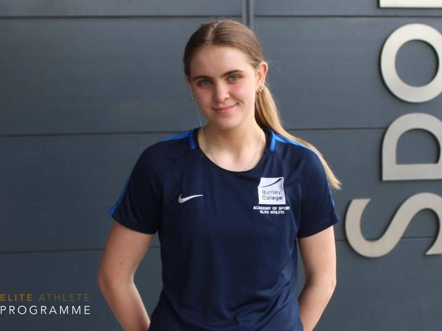 A' level student, Bridget Morgan (16), from Fence, has been selected for the England Roses Netball Academy, which nurtures the talent of the country's best players.