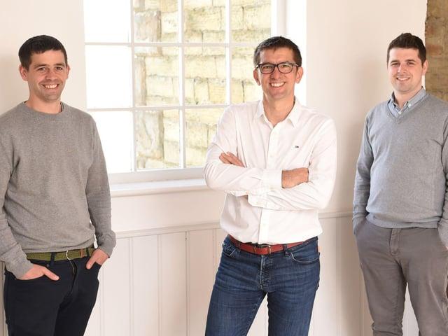 Michael Brennan (Account Director), Leon Calverley (founder and managing director of Door4), Sean Dwyer (Director of Operations)