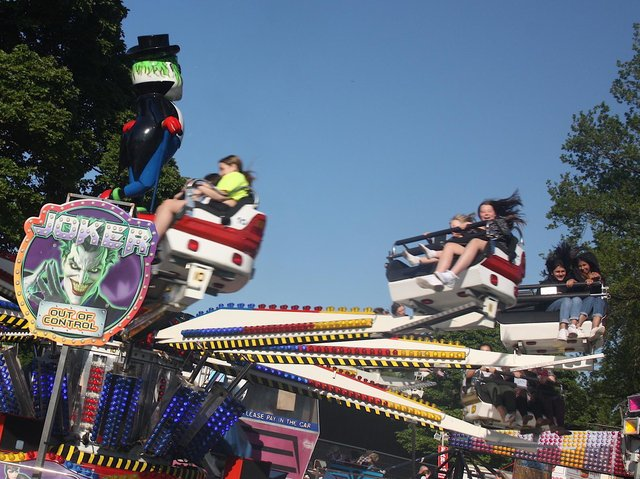 The Joker will be one of the rides at Burnley Wakes Fun Fair