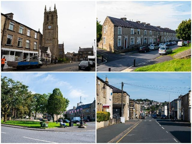 These are the areas of Burnley with the highest infection rates in the last week