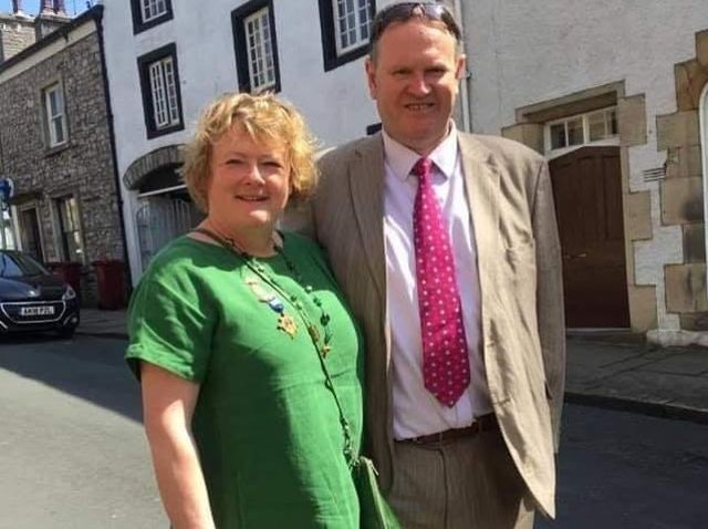 Much-loved and respected Allan and Sue Knox