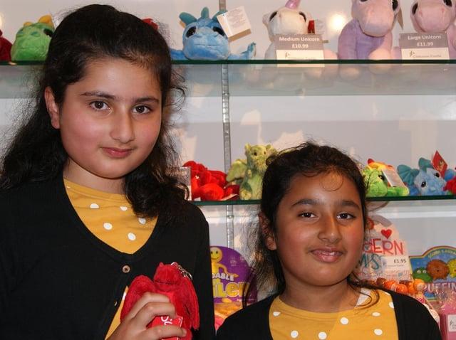 Sara with her sister Aisha