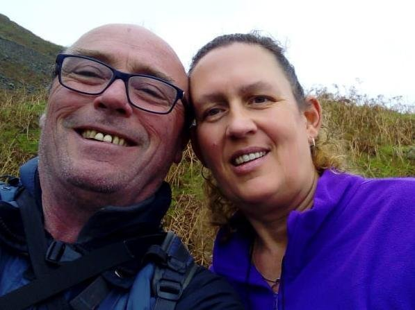 Jan Keegan is preparing to tackle the Yorkshire Three Peaks challenge in memory of her husband Auzz