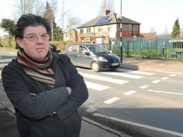 Coun. Ged Mirfin is doing his best to tackle an increase in anti-social behaviour