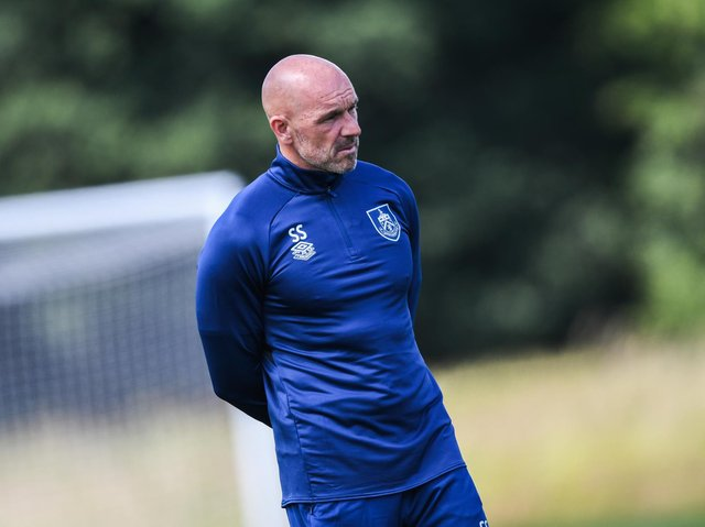 Burnley FC first team coach Steve Stone