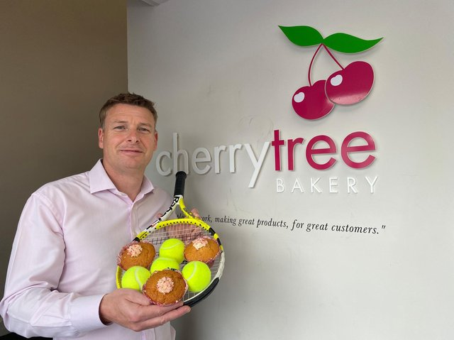 Mark Beaumont, MD of CherryTree Bakery.