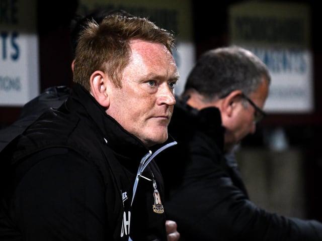 Ayr United boss David Hopkin