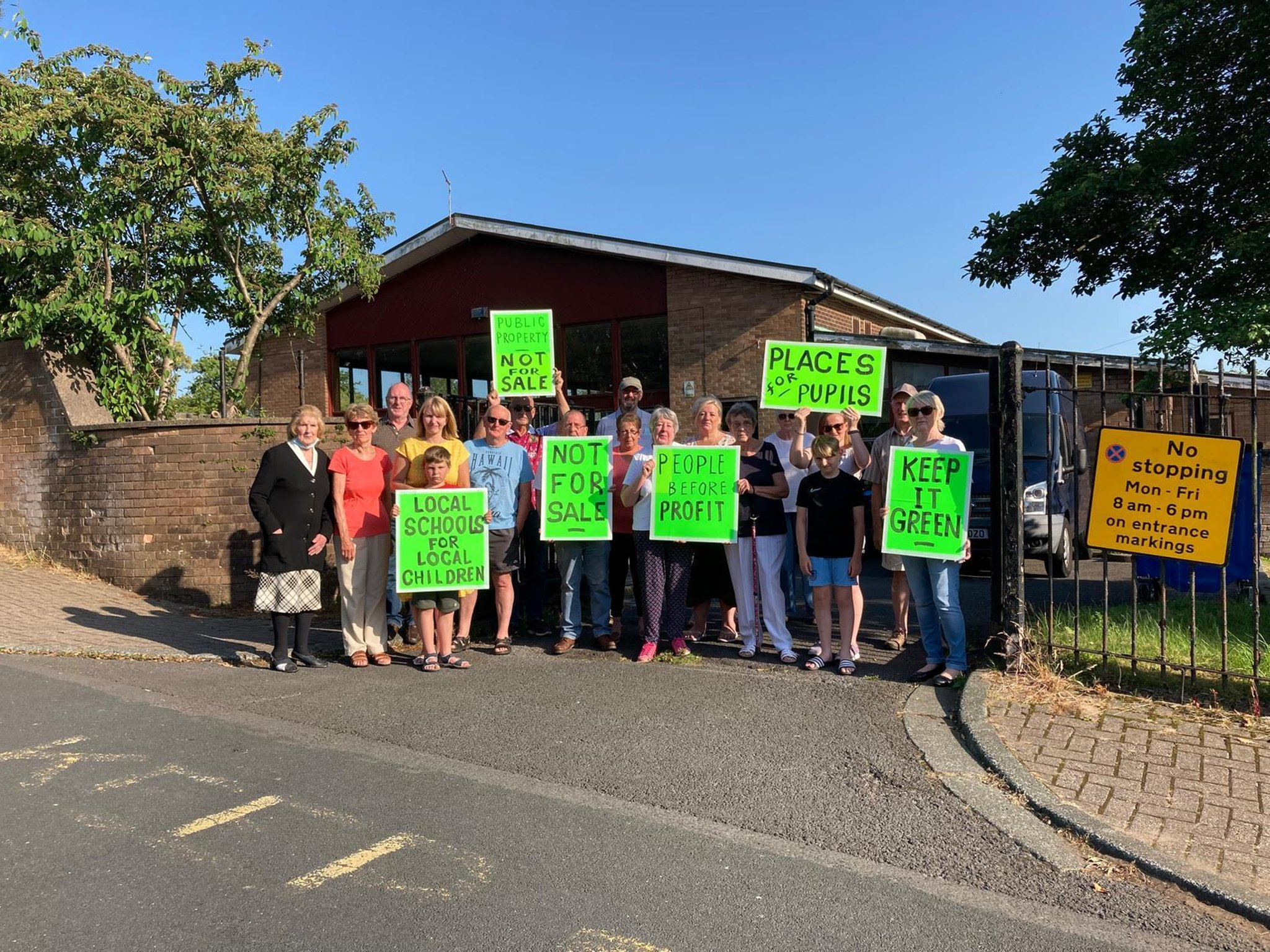 Burnley residents' celebrate as campaign against plan to ...