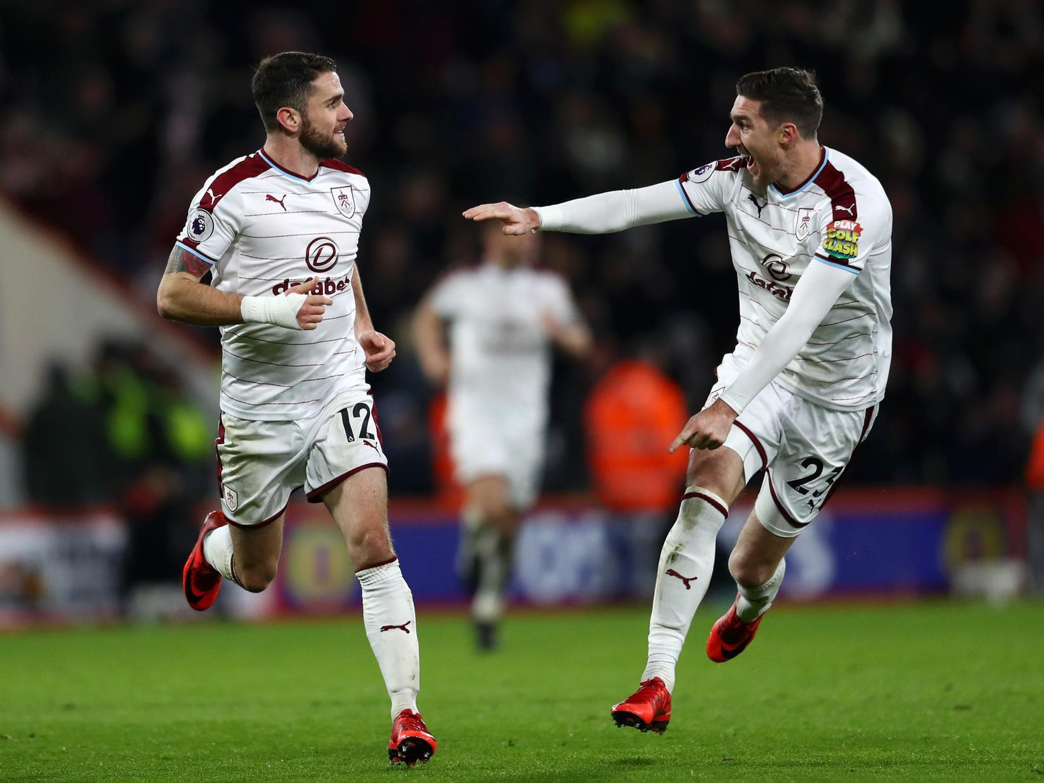 Former Burnley winger Robbie Brady joins Bournemouth