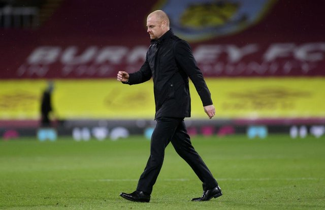Sean Dyche, Manager of Burnley. (Photo by Carl Recine - Pool/Getty Images)