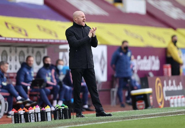Sean Dyche, Manager of Burnley. (Photo by Clive Brunskill/Getty Images)