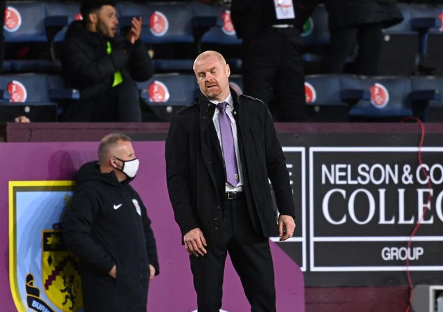 Sean Dyche, Manager of Burnley  (Photo by Clive Mason/Getty Images)